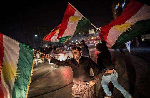 Kurden spielen mit dem Feuer