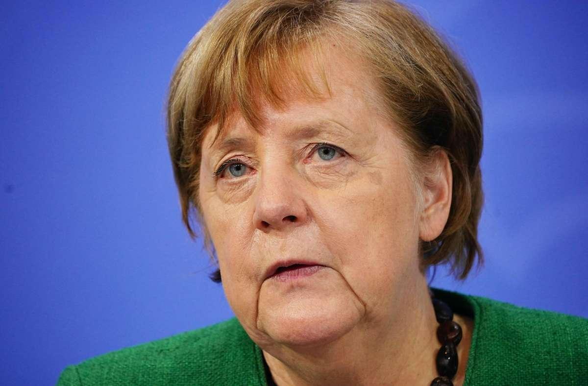 Angela Merkel versteht den Preis als Ansporn, weiterhin für die Belange der Minderheit einzutreten. (Archivbild) Foto: AFP/MICHAEL KAPPELER