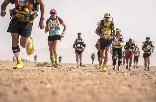 250 Kilometer durch die Wüste
