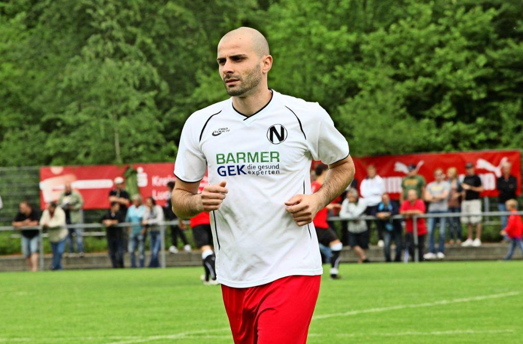 Giuseppe Greco kehrt als Trainer des SV Fellbach zurück zum 1. FC Normannia Gmünd, bei dem er als Spieler aktiv war.Foto: Patricia Sigerist Foto: /Patricia Sigerist