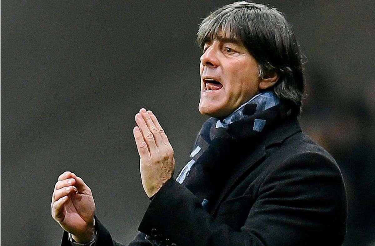 Joachim Löw denkt gar nicht daran, als Bundestrainer aufzuhören. Foto: dpa