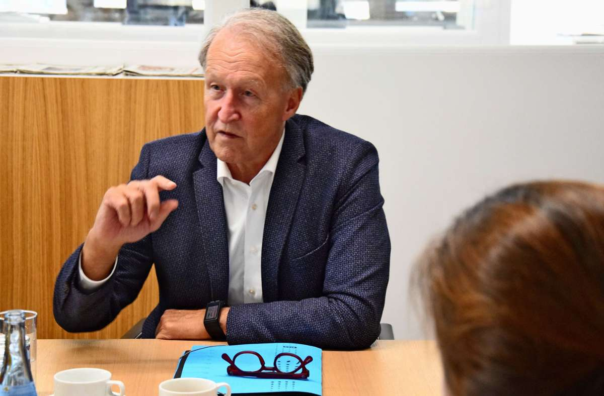 OB Roland Klenk möchte Start-ups Standorte in der Stadt anbieten. Foto: Archiv Alexandra Kratz