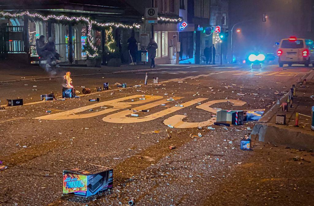In der Neujahrsnacht hat es Anzeigen gegen 23 Personen in Stuttgart gegeben. Foto: 7aktuell.de/Alexander Hald