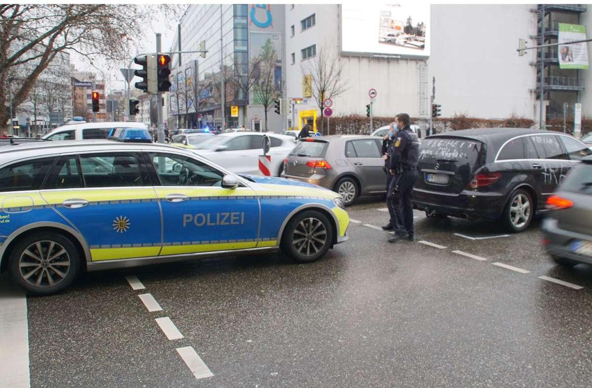 Auch in Pforzheim gab es vor einigen Tagen einen Autocorso gegen den Lockdown. Foto: SDMG/Gress