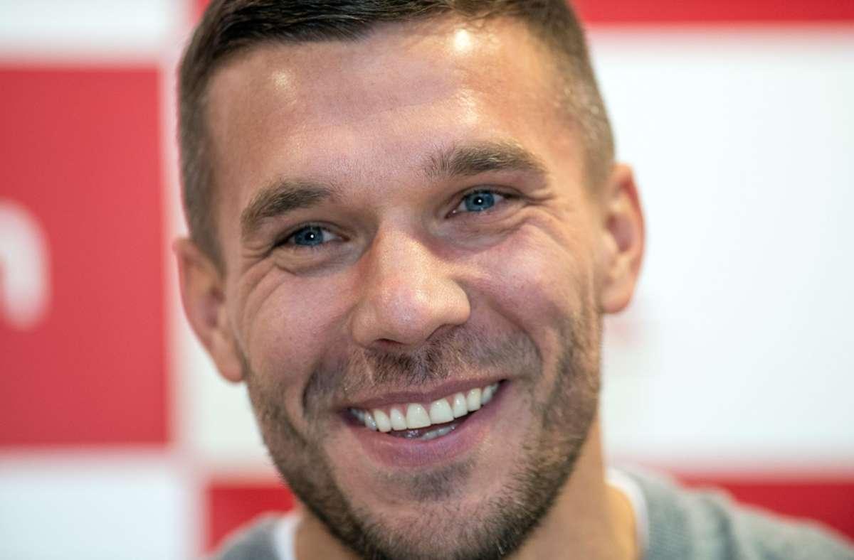 Ex-Nationalspieler Lukas Podolski (Archivbild). Foto: dpa/Bernd Thissen