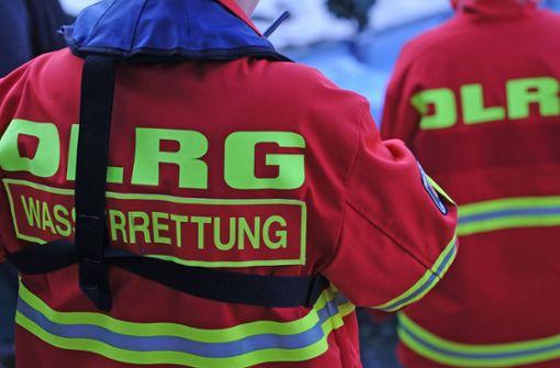 Schwimmer nach Baden in Baggersee vermisst