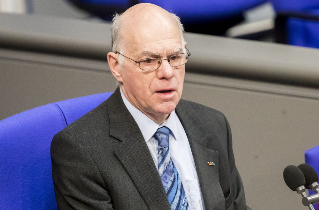Bundestagspräsident Norbert Lammert im Bundestag Foto: dpa