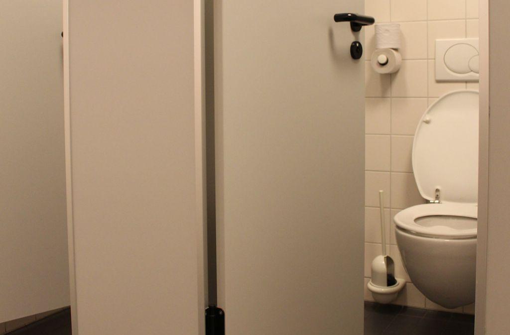 Die Birkacher wünschen sich neue Schultoiletten für ihre Kinder. Foto: Symbol, J. Fritsch