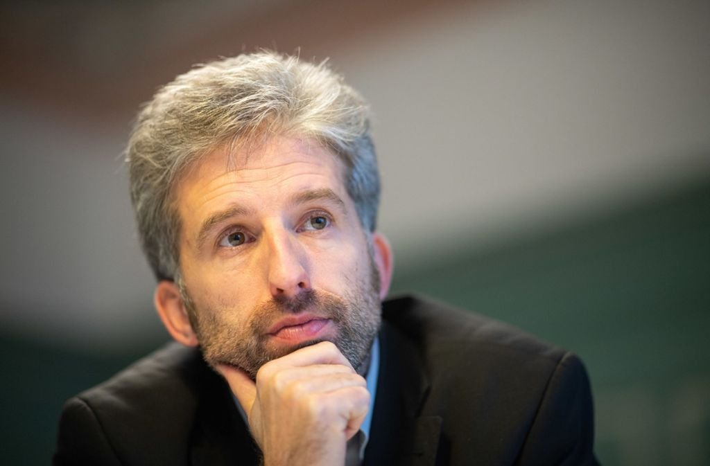 Der Tübinger Oberbürgermeister Boris Palmer Foto: dpa