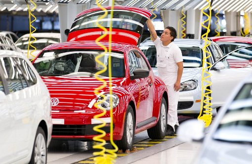 Der Autobau in Mexiko floriert
