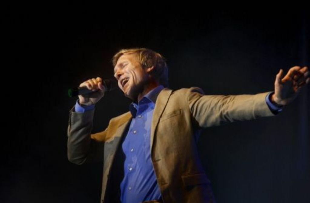Ich bin ein Melodienmensch, sagt Peter Rist.Der Reutlinger Finanzbürgermeister will jetztSchlagersänger werden.  Foto: Stoppel