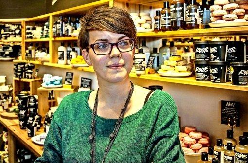 Vegane Produkte:  Bloggerin Jenny Langenmayr weiß, wo sie fündig wird. Foto: Lg/Piechowski