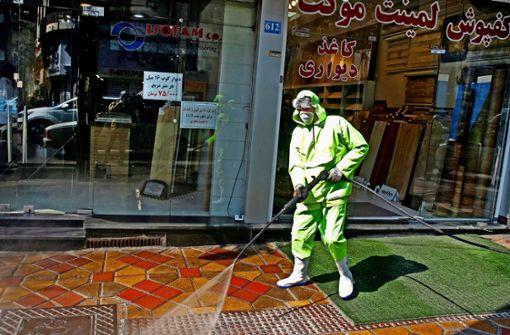 Teheran soll Corona-Zahlen manipulieren