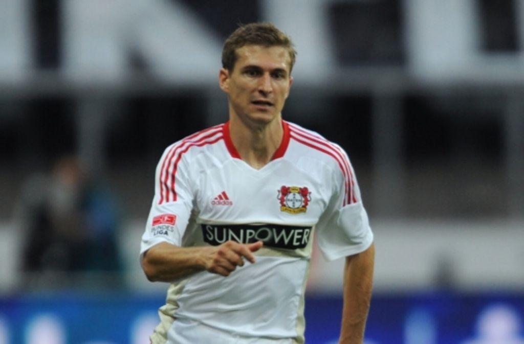 Noch spielt Schwaab bei Bayer Leverkusen. Foto: dpa