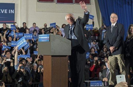 Sanders und Trump triumphieren