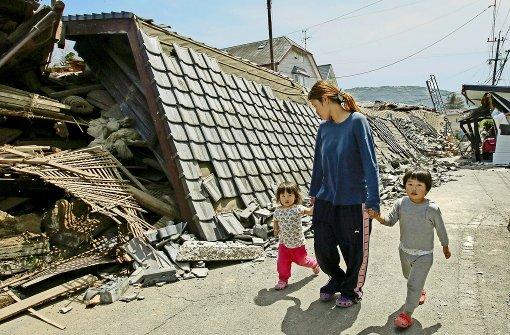 Neun Tote nach schwerem Erdbeben in Japan