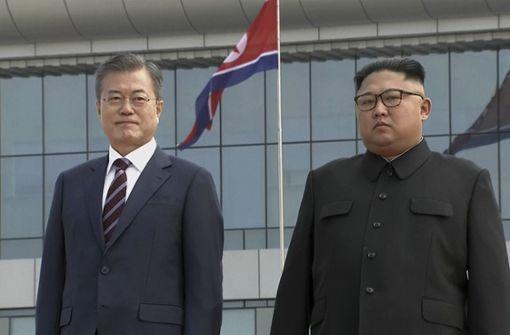 Südkoreas Staatschef auf schwieriger Mission