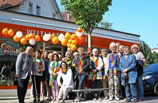 Weltladen feiert Eröffnung an neuem Standort