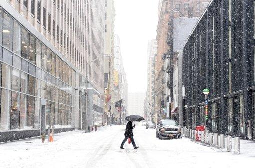 Blizzardwarnung für New York aufgehoben