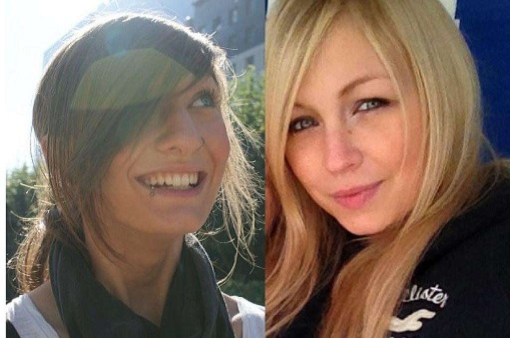Lydia Bautze (links) kommt aus Stuttgart, Natalie Diedrichs aus dem Ruhrgebiet. Beide studieren in Stuttgart Journalismus. Foto: privat
