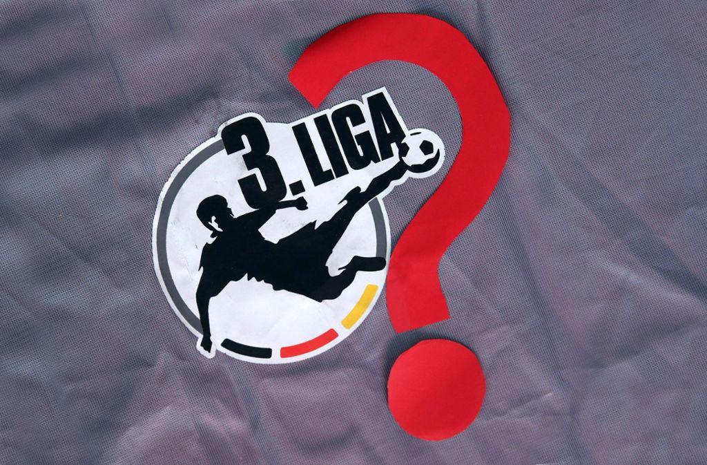 Wie geht es mit der 3. Liga in der Corona-Krise weiter? Foto: imago images/Roger Petzsche