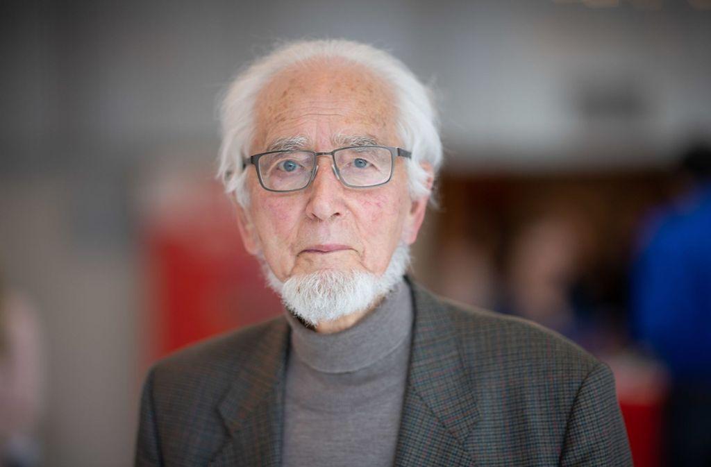 Erhard Eppler ist im Alter von 92 Jahren gestorben. Foto: dpa/Sebastian Gollnow