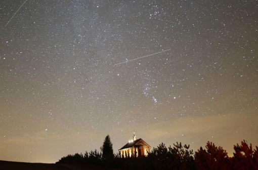 Sternschnuppen-Phänomen erreicht seinen Höhepunkt