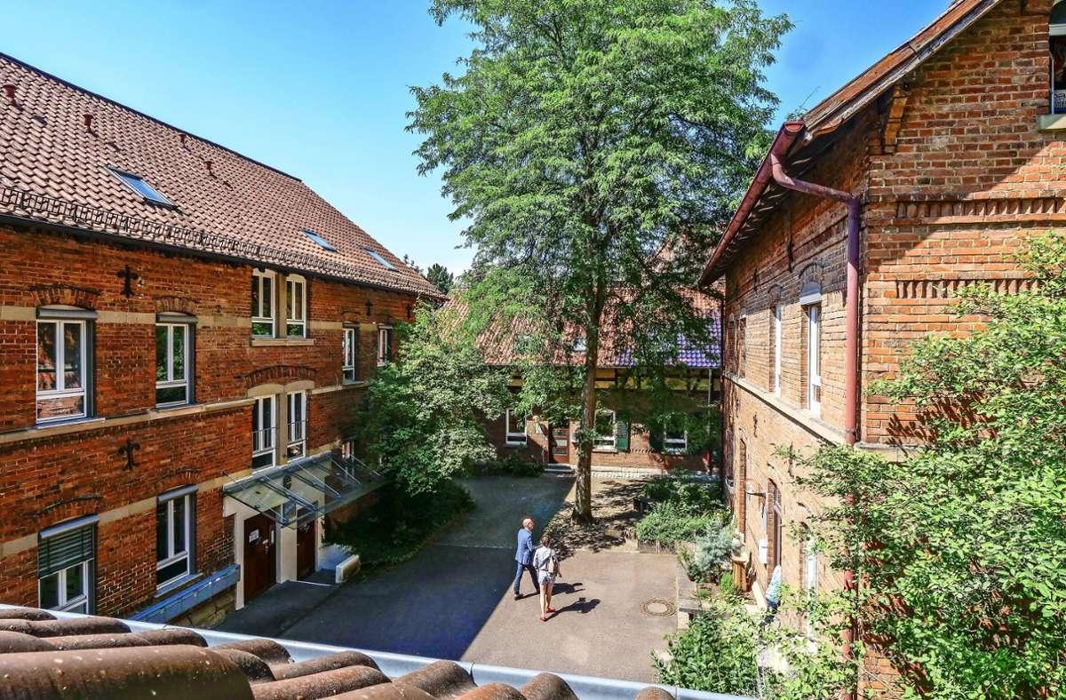 Das Herzstück der Ludwigsburger Karlshöhe: Vier von acht historischen Gebäude stehen auch heute noch. Foto: factum/Simon Granville
