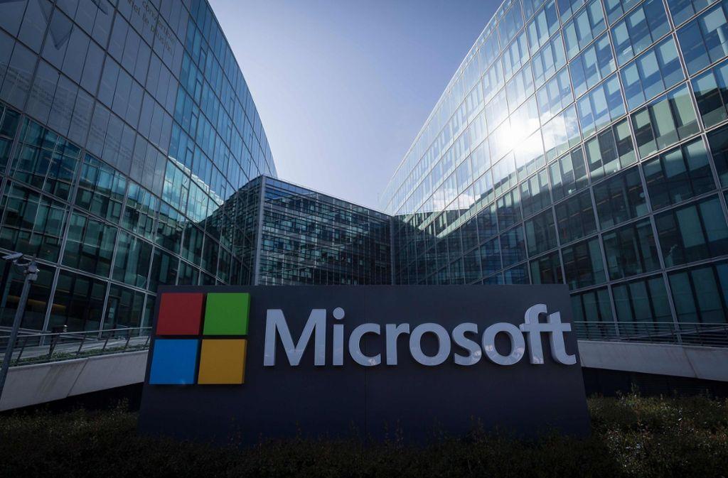 Microsoft gibt den Browser Edge auf. Foto: AFP