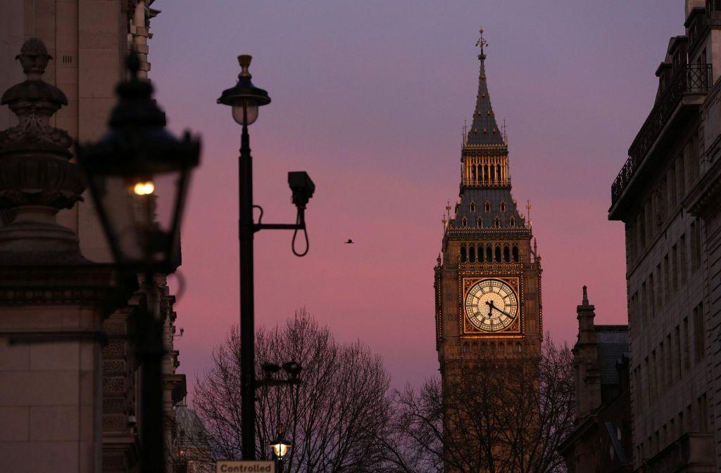 Delaneys Thriller spielt in London. Foto: AFP