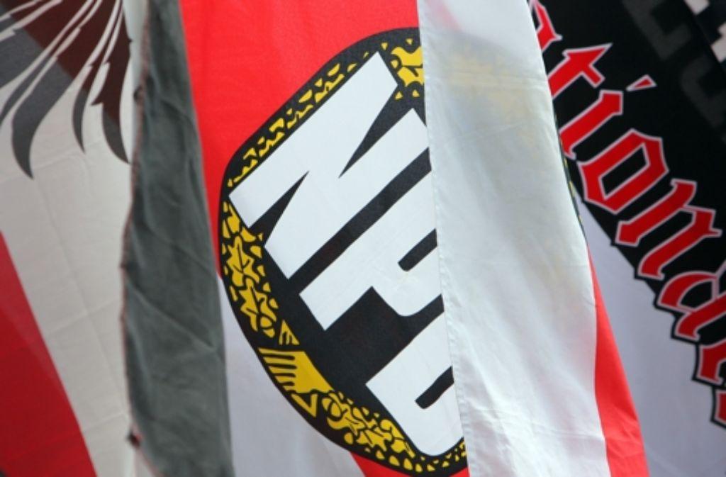 Über den richtigen Weg zur Bekämpfung der NPD herrscht Uneinigkeit. Foto: dpa
