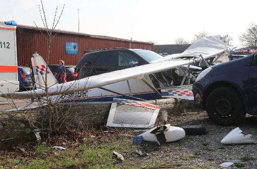 Pilot von Sportflieger bei Absturz schwer verletzt