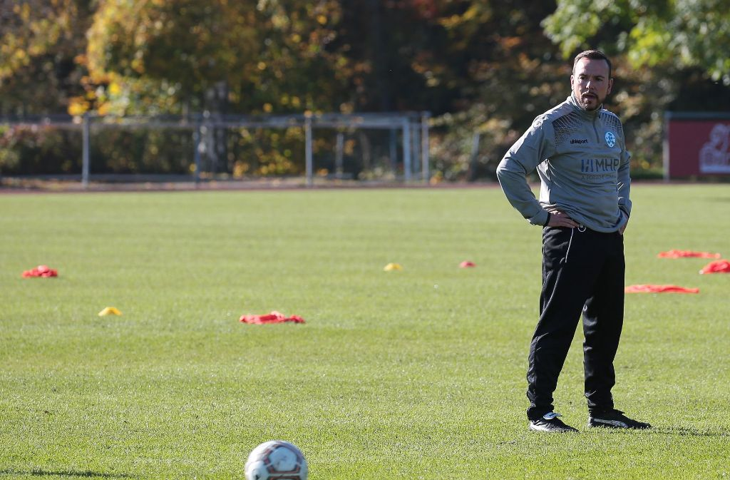 Neu bei den Kickers: Trainer Paco Vaz Foto: