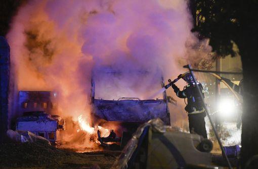 Nach tödlichen Polizeischüssen: Ausschreitungen in Nantes gehen weiter