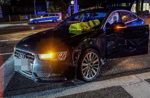 Hoher Schaden nach Unfall auf Kreuzung
