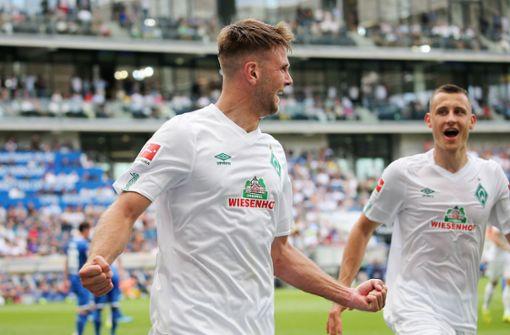Werder Bremen auch ohne Niclas Füllkrug gegen den VfB
