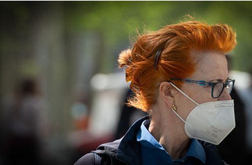 So viel kosten  FFP2-Masken in Stuttgart