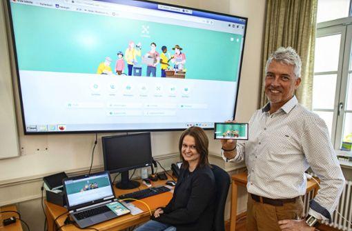 Digitale Infobörse für das ganze Dorf