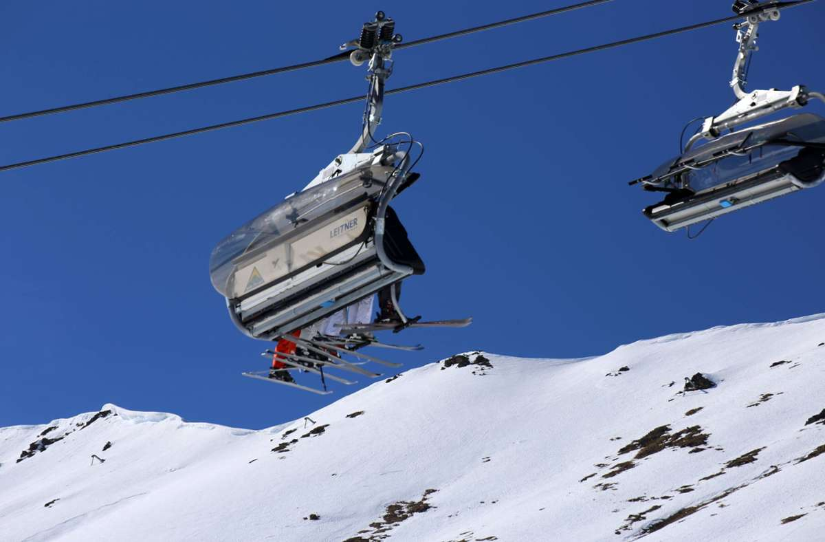 Im Skilift wird es in Österreich eine FFP2-Maskenpflicht geben. Foto: imago images/U. J. Alexander/ via www.imago-images.de