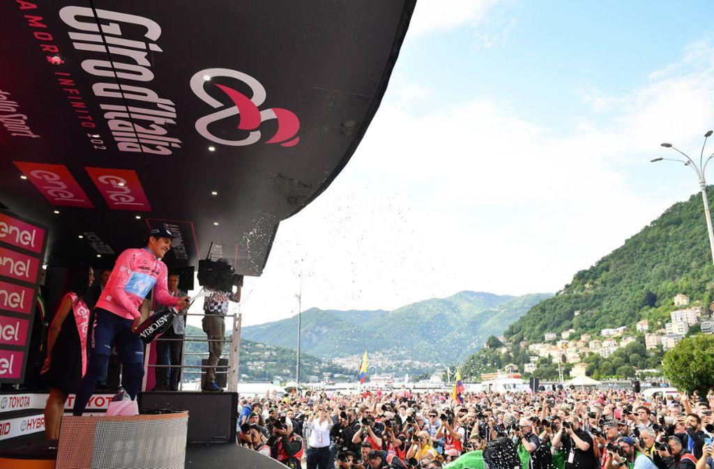 Girod'Italia:Die zweitgrößte Rundfahrt der Welt ist wie alle Frühjahrsklassiker abgesagt werden. Ob die Rennen nachgeholt werden, ist noch offen. Foto: www.imago-images.de