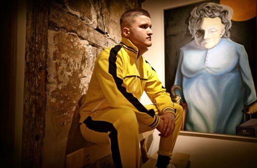 Dieser Künstler malt Gangsta-Rapper in Öl