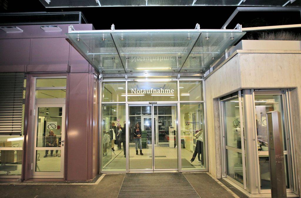 Die Notaufnahme des Stuttgarter Marienhospitals wird zum Drehort der neuen Live-Sendung auf Kabel Eins. Foto: imago/Eibner/Eky Eibner