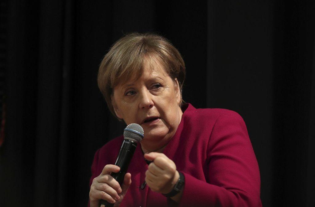 Angela Merkel glaubt nicht an eine baldige EU-Vollmitgliedschaft der Türkei. Foto: AP