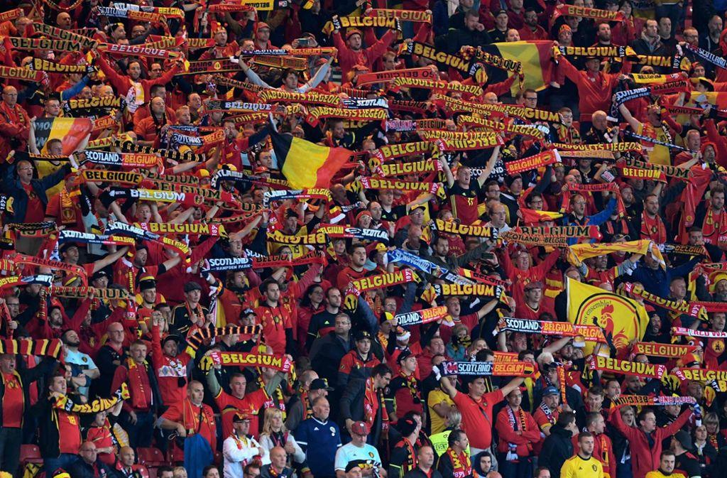 Der belgische Fußball wird von einem Skandal überschattet. Foto: AFP/ANDY BUCHANAN