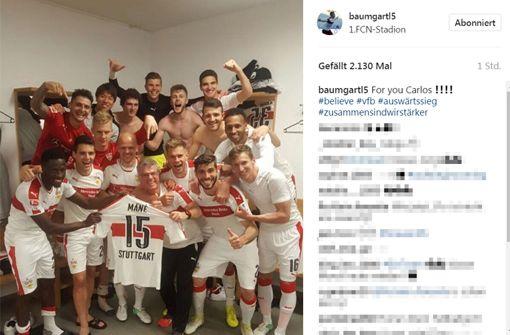 Mannschaft widmet den Sieg Carlos Mané