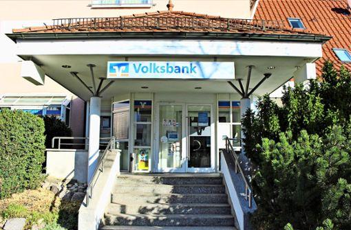 Die Volksbank-Filiale im Ort schließt