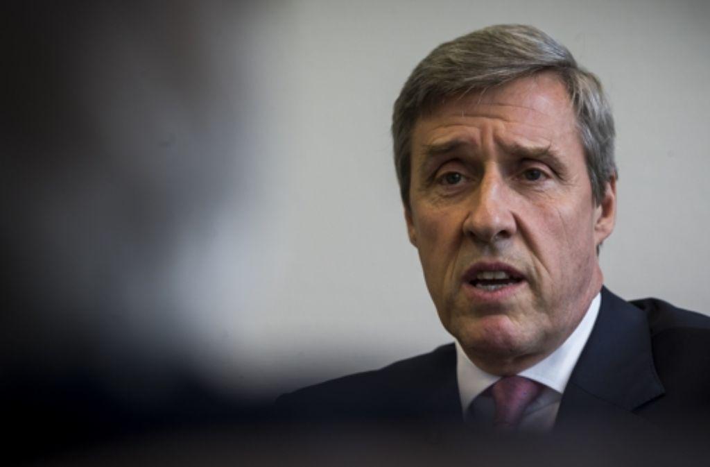 IHK-Präsident Fichtner lehnt eine Reform der Kammerstrukturen ab. Foto: Zweygarth
