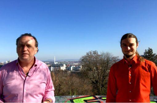 Sascha Fröhlich  von der ÖDP   im Videointerview