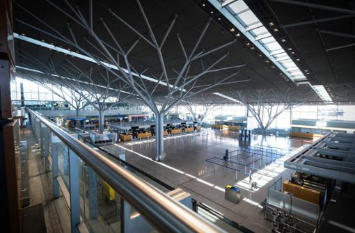 Coronavirus treibt Airport in Sturzflug