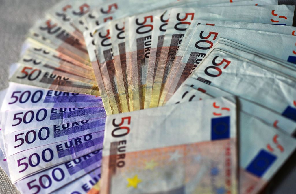Bargeld in Millionenhöhe wurde von den Händlern bewegt. Foto: dpa